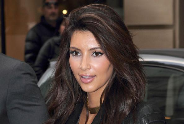 See Kim Kardashian as a Blonde